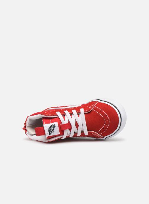 Sneakers Vans SK8-Hi Zip BB Rood links