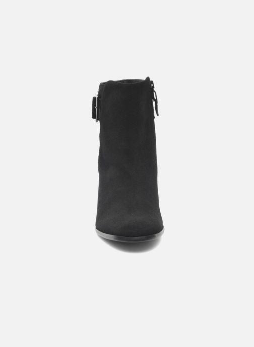 Stuart Et Fakir Noir 304 Daim Bottines Elizabeth Boots v0wNm8nO