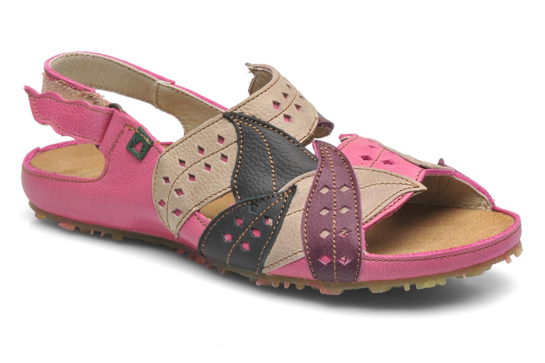 Sandales et nu-pieds El Naturalista Ikebana 133 Rose vue détail/paire