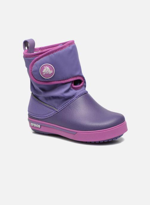 Boots   wellies Crocs Crocband II.5 Gust Boot Kids Purple detailed view   Pair 20611241195