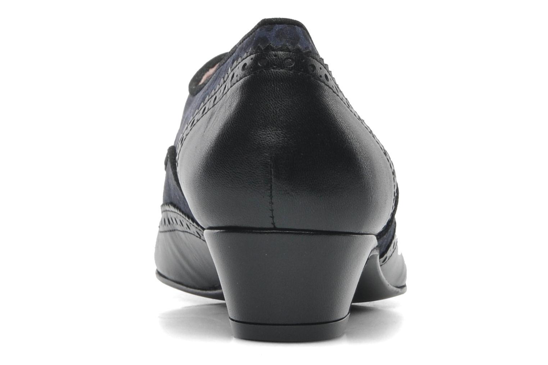Chaussures à lacets Annabel Winship Italiano Noir vue droite