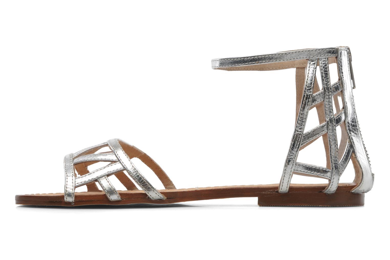 Sandales et nu-pieds Jonak Jessy Argent vue face