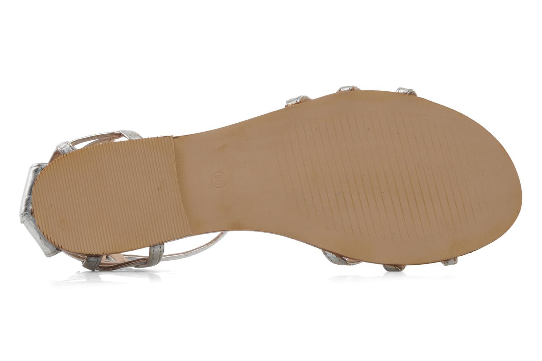 Sandales et nu-pieds Jonak Jessy Argent vue haut