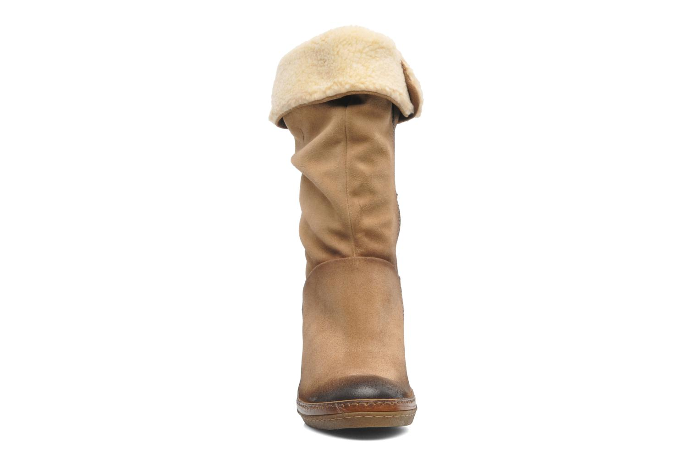 Bottines et boots Manas Joujou Beige vue portées chaussures