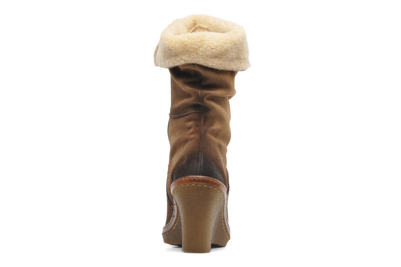Bottines et boots Manas Joujou Beige vue droite