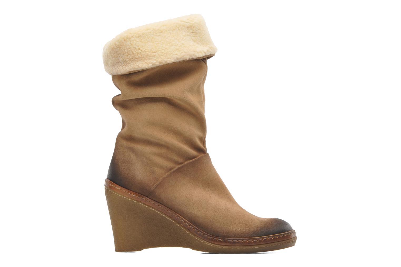 Bottines et boots Manas Joujou Beige vue derrière