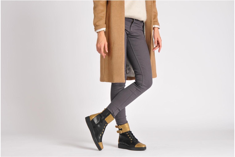 Bottines et boots Anaki Kate Noir vue bas / vue portée sac