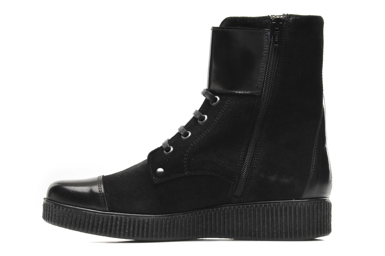 Bottines et boots Anaki Kate Noir vue face