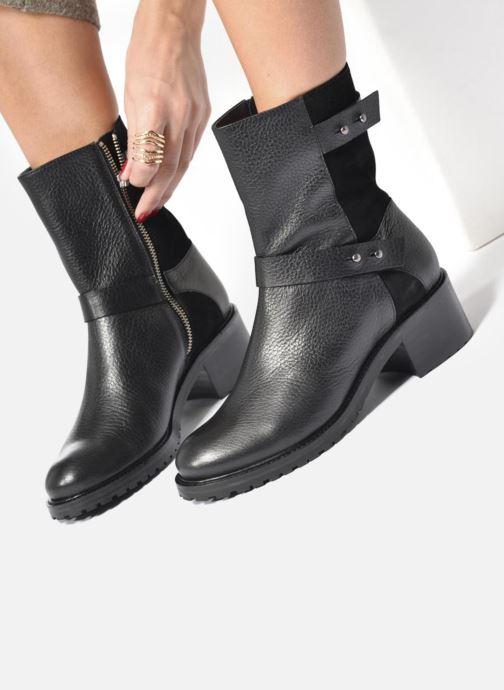 Bottines et boots Anaki Paul Bleu vue bas / vue portée sac
