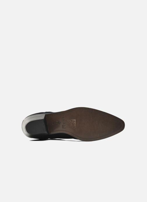 Bottines et boots Anaki Paul Bleu vue haut