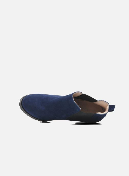 Ankle boots Anaki Sabrina Blue view from the left