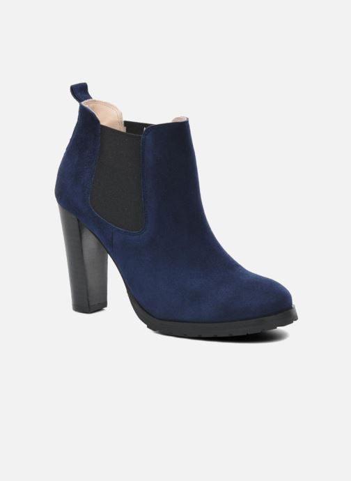 Ankle boots Anaki Sabrina Blue detailed view/ Pair view