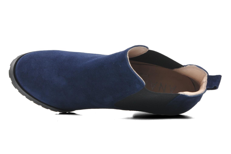 Bottines et boots Anaki Sabrina Bleu vue gauche