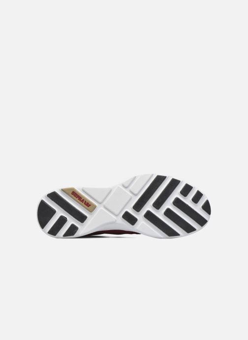 Sneaker Supra Hammer Run rot ansicht von oben