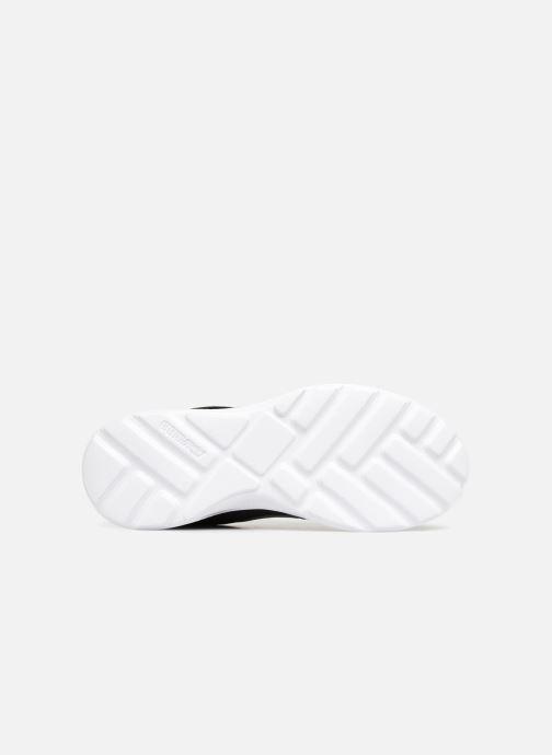 Sneaker Supra Hammer Run schwarz ansicht von oben