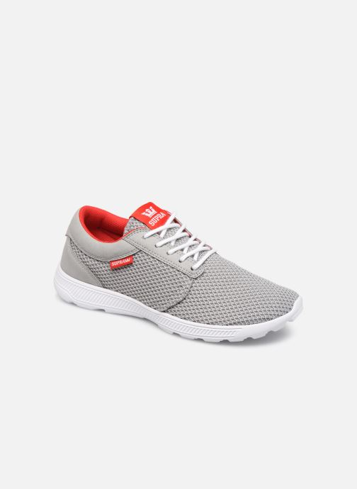 Baskets Supra Hammer Run Gris vue détail/paire