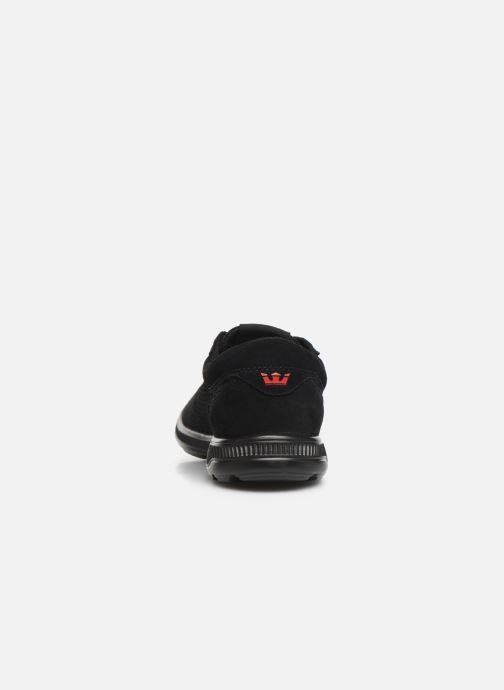 Sneaker Supra Hammer Run schwarz ansicht von rechts