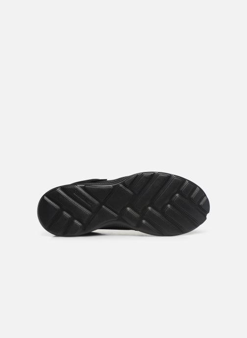 Sneakers Supra Hammer Run Nero immagine dall'alto