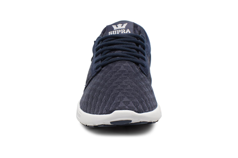 Baskets Supra Hammer Run Bleu vue portées chaussures