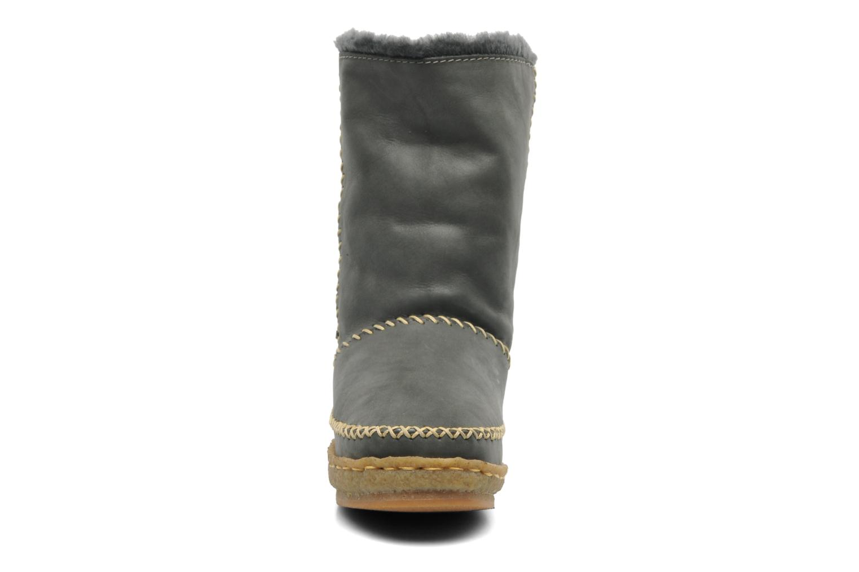 Bottines et boots Laidback London Naira Gris vue portées chaussures