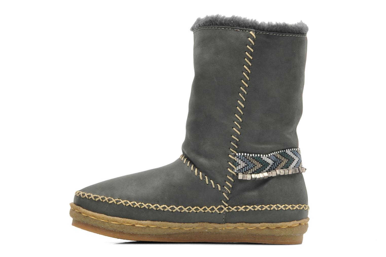 Bottines et boots Laidback London Naira Gris vue face