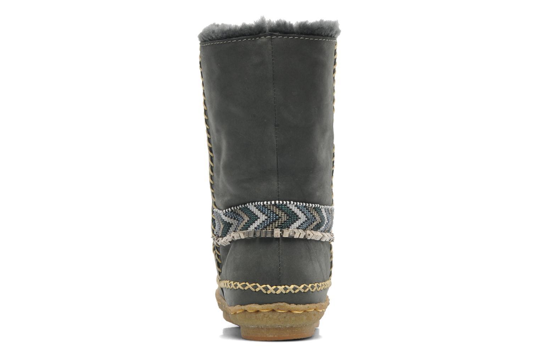 Bottines et boots Laidback London Naira Gris vue droite
