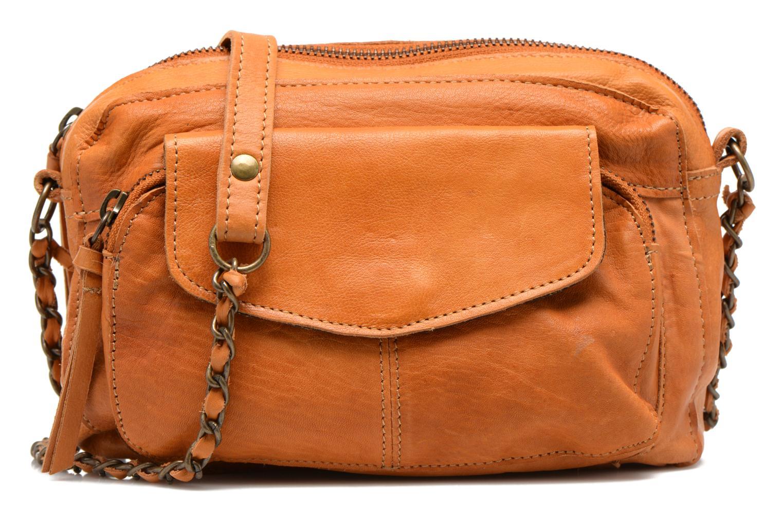 Sacs à main Pieces Naina leather Crossover new Marron vue détail/paire