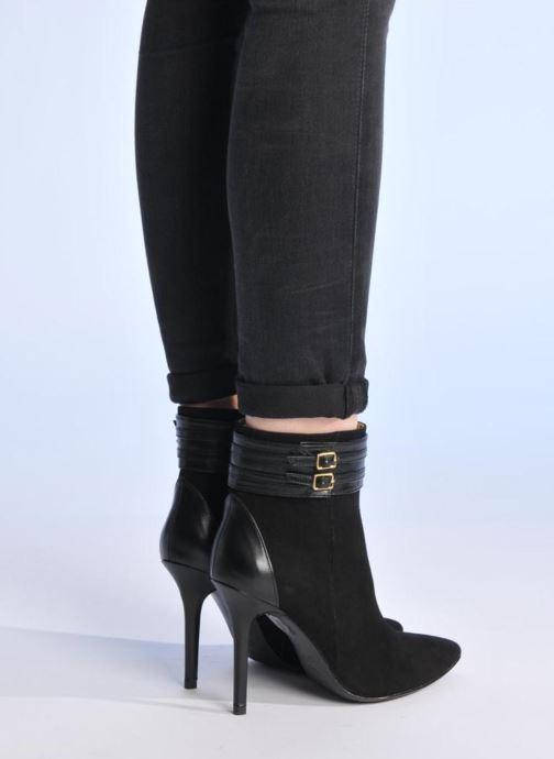 Bottines et boots Made by SARENZA Monceau #8 Noir vue bas / vue portée sac