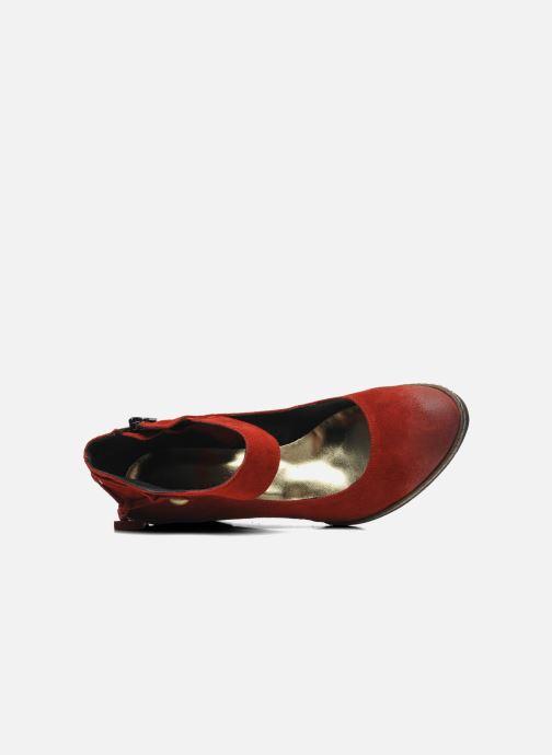 Escarpins Myma Bouelle Rouge vue gauche