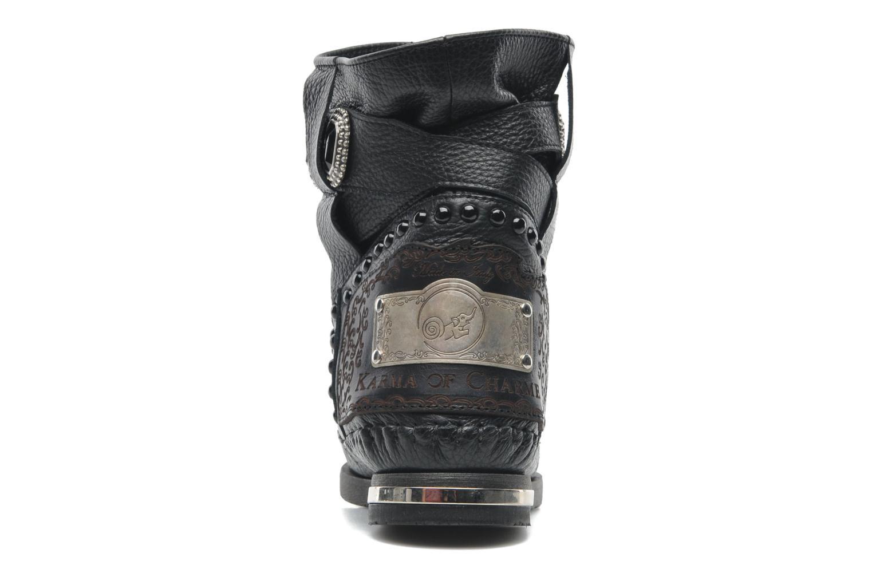 Bottines et boots Karma of Charme Stra2 Barocco Noir vue droite