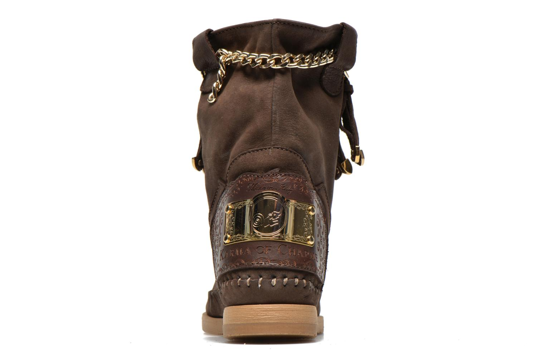 Bottines et boots Karma of Charme Dakota Gold Marron vue droite