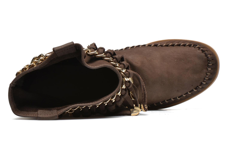 Bottines et boots Karma of Charme Dakota Gold Marron vue gauche