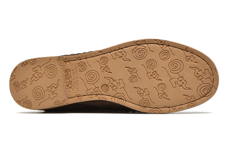 Bottines et boots Karma of Charme Dakota Gold Marron vue haut