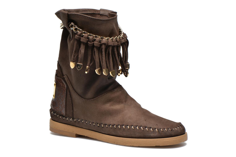 Bottines et boots Karma of Charme Dakota Gold Marron vue détail/paire