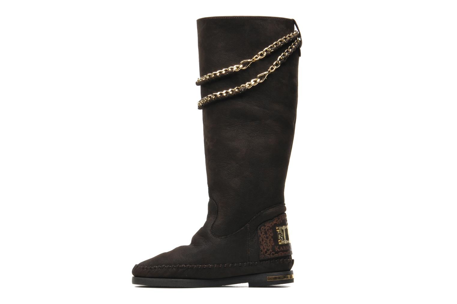 Bottes Karma of Charme Opera Gold Marron vue face
