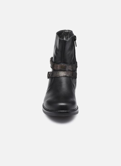 Ballerines Bopy Safrica Noir vue portées chaussures