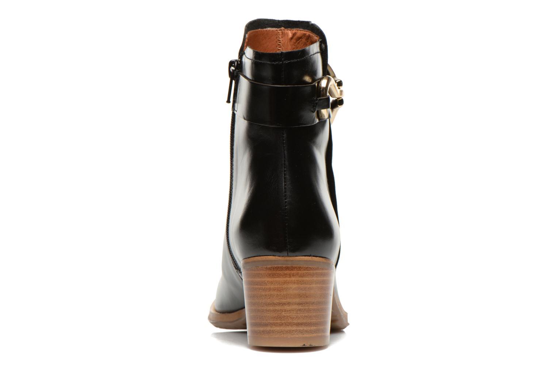 Bottines et boots Georgia Rose Cottage Noir vue droite