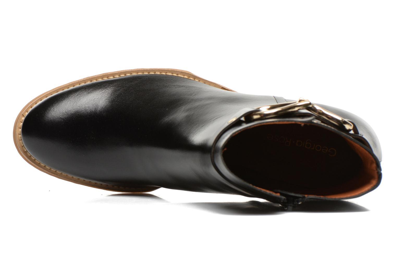 Bottines et boots Georgia Rose Cottage Noir vue gauche