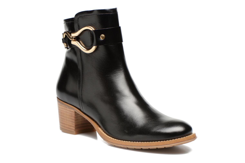 Bottines et boots Georgia Rose Cottage Noir vue détail/paire