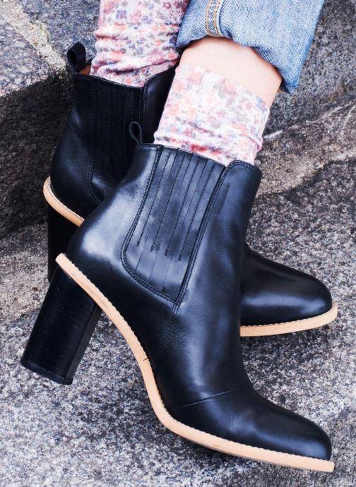 Bottines et boots Made by SARENZA Soft Folk Boots #13 Noir vue 3/4