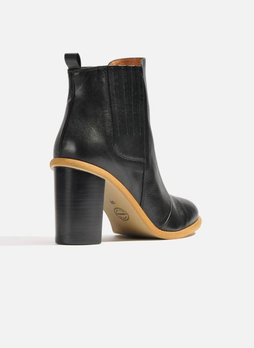 Bottines et boots Made by SARENZA Soft Folk Boots #13 Noir vue face