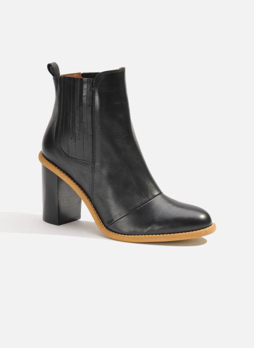 Stiefeletten & Boots Made by SARENZA Soft Folk Boots #13 schwarz ansicht von rechts