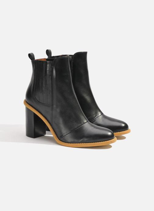 Boots en enkellaarsjes Made by SARENZA Soft Folk Boots #13 Zwart achterkant