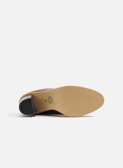 Stiefeletten & Boots Made by SARENZA Toundra Girl Bottines à Talons #1 weinrot ansicht von links