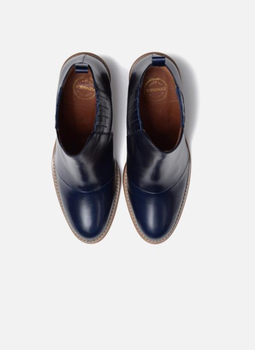 Botines  Made by SARENZA Soft Folk Boots #13 Azul vista del modelo