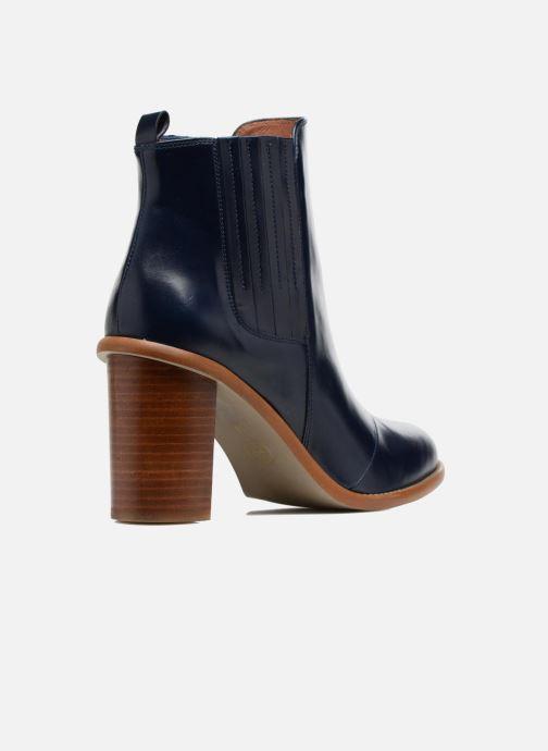Botines  Made by SARENZA Soft Folk Boots #13 Azul vista de frente