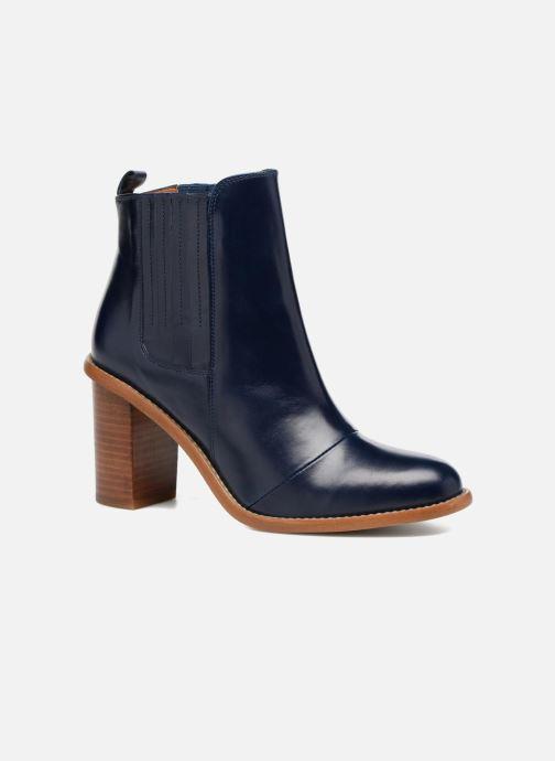 Botines  Made by SARENZA Soft Folk Boots #13 Azul vista lateral derecha