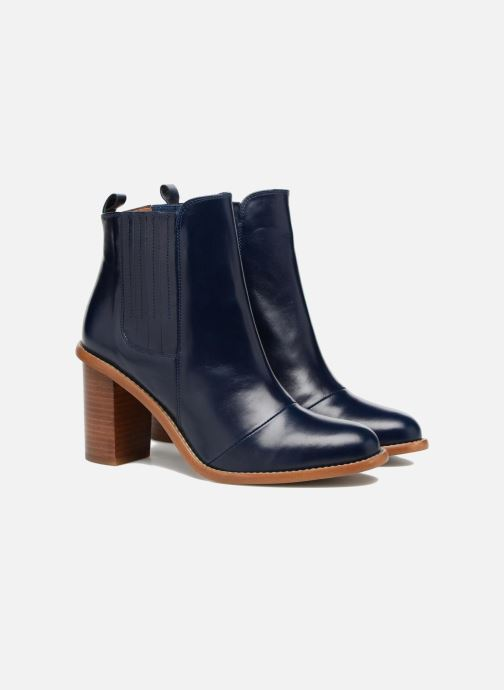 Botines  Made by SARENZA Soft Folk Boots #13 Azul vistra trasera