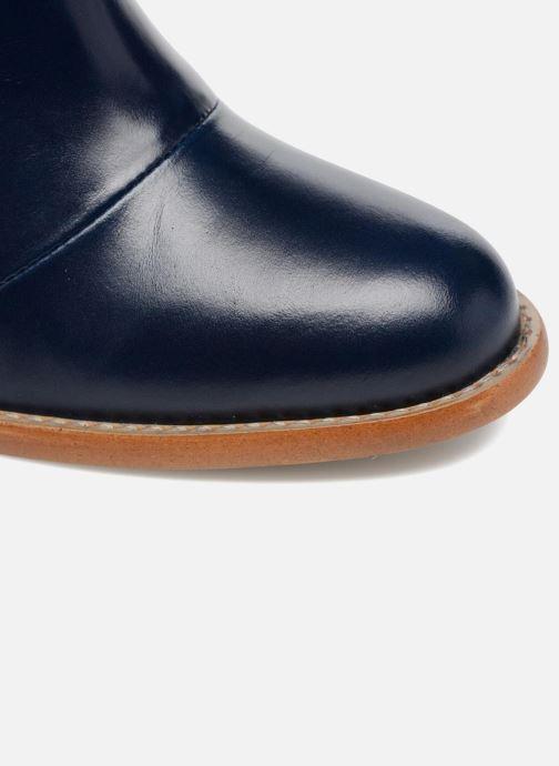 Botines  Made by SARENZA Soft Folk Boots #13 Azul vista lateral izquierda