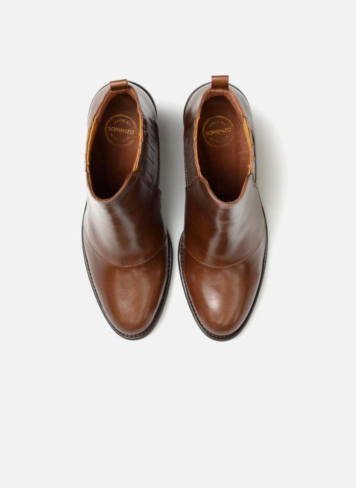 Stivaletti e tronchetti Made by SARENZA Soft Folk Boots #13 Marrone modello indossato